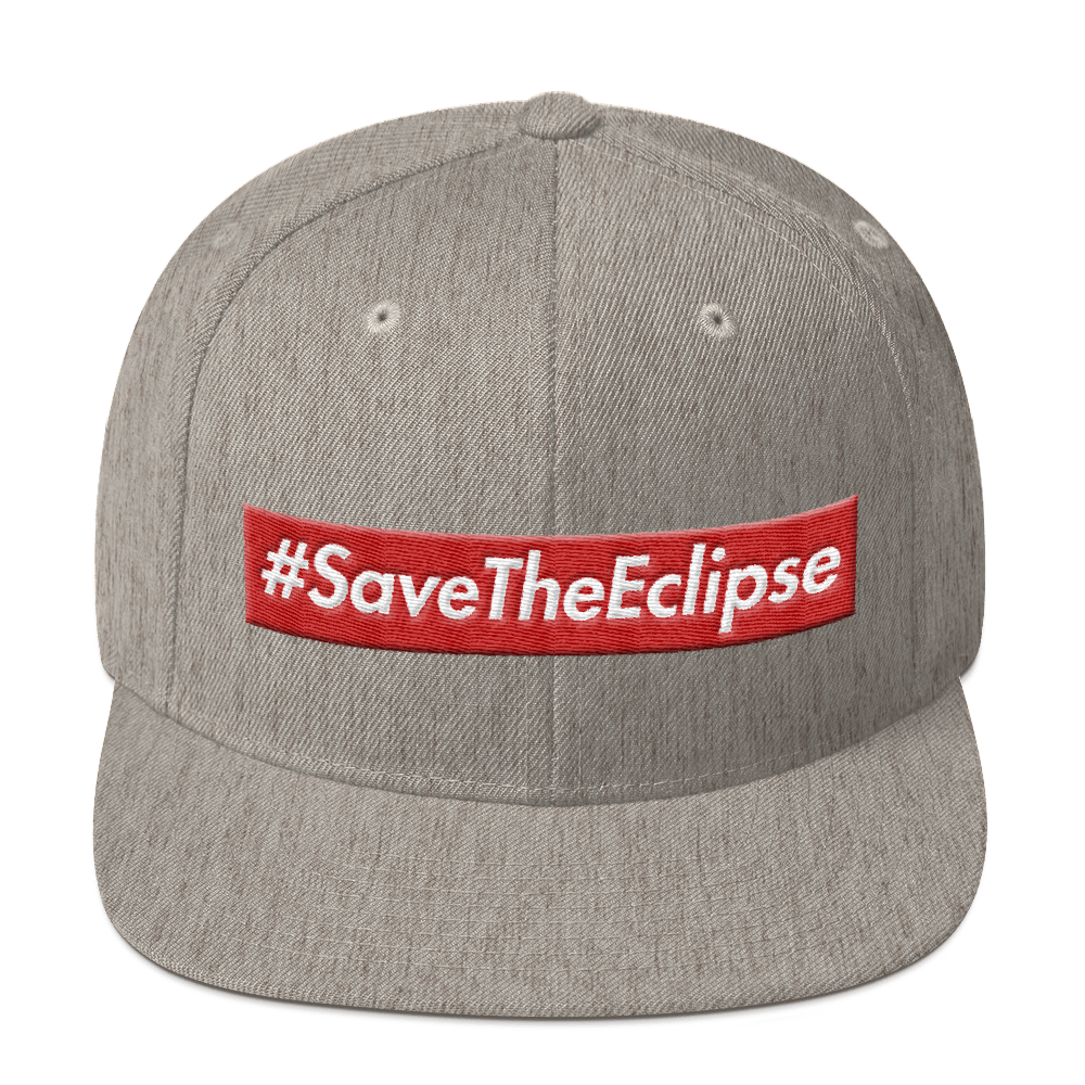 Image of #SaveTheEclipse | SNAP BACK | GREY/RED/WHITE