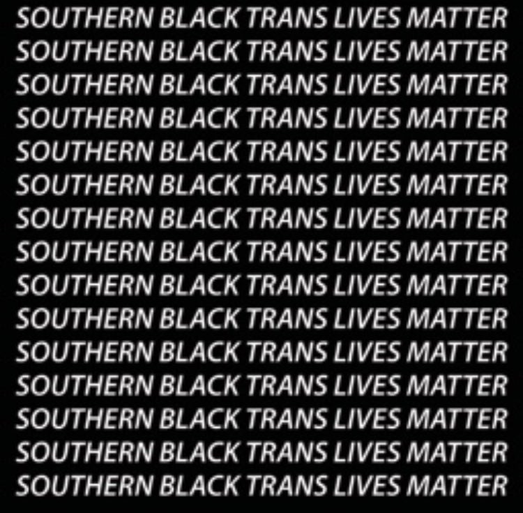 Image of Southern Black Trans Lives Matter Shirt