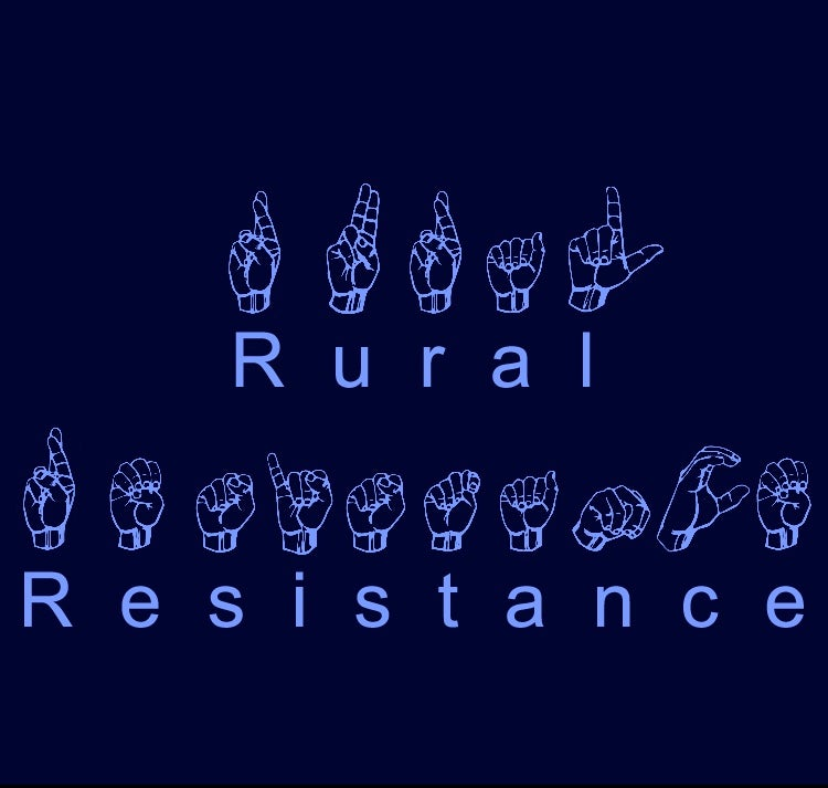 Image of Rural Resistance ASL Shirt