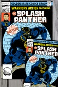Image of Splash Panther Art Print Combo