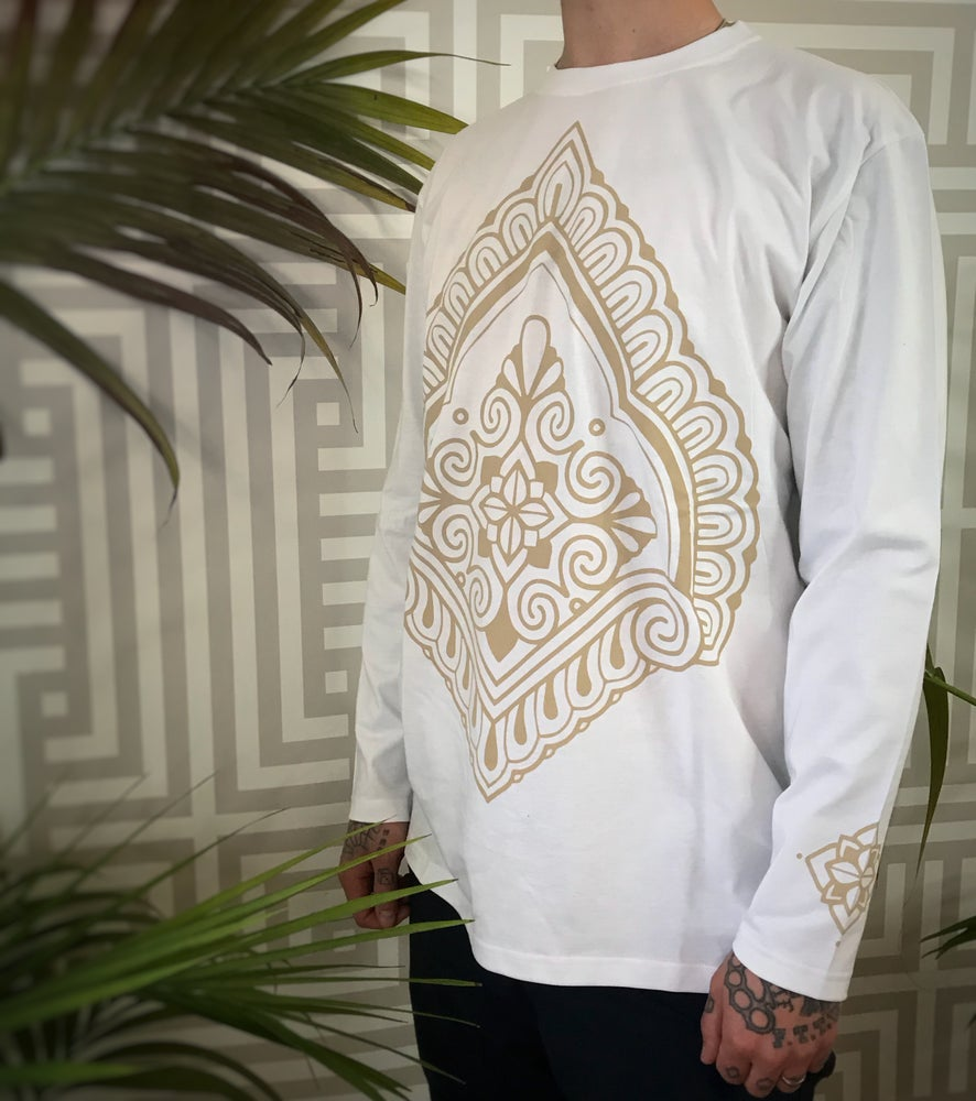 Image of Arches Longsleeve Shirts - White *Super Limited Run*