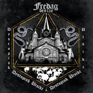 """Image of FREDAG DEN 13:E """"Dystopisk Utsikt"""" LP"""