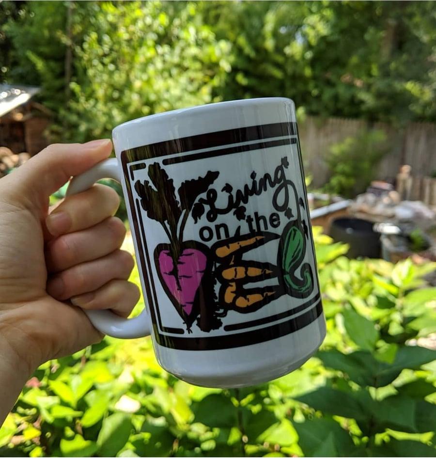 Image of Living on the Veg Mugs