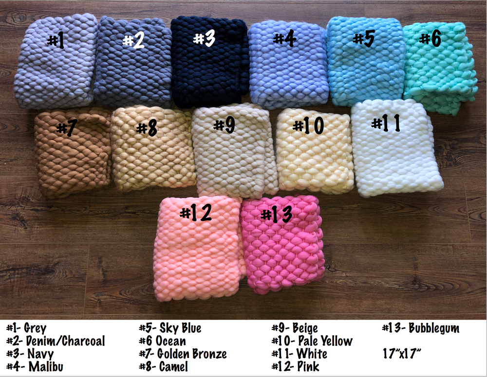 Image of Wool Bumpy Blankets/Layers
