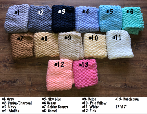 Image of RTS Wool Bumpy Blankets/Layers