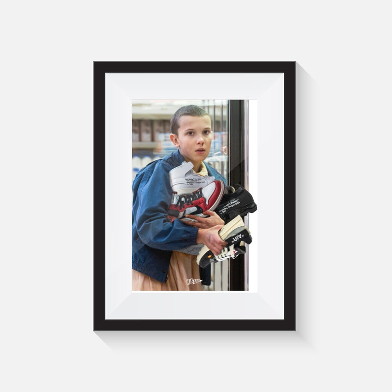 """Image of FRAMED PRINT 11 WITH """"THE TEN"""" - SHIPPED WORLDWIDE INCLUDES IN THE PRICE"""