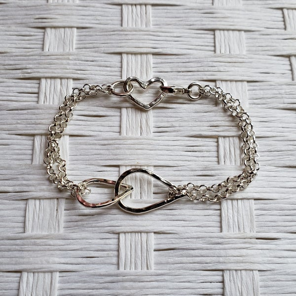 Image of Droplets Bracelet