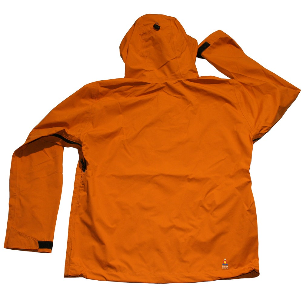 Image of ANTERO 3 POLARTEC NEOSHELL HARDSHELL LTE Light Touring SKI WINTER JACKET Orange