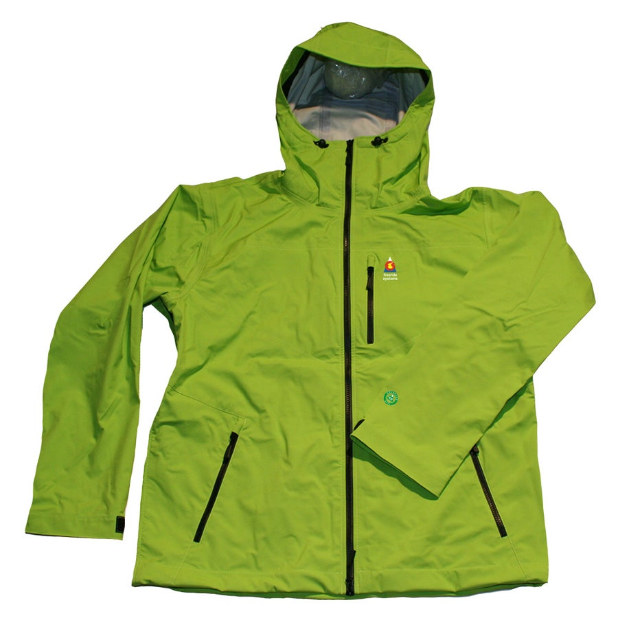 Image of ANTERO 3 POLARTEC NEOSHELL HARDSHELL LTE Light Touring SKI WINTER JACKET LIME