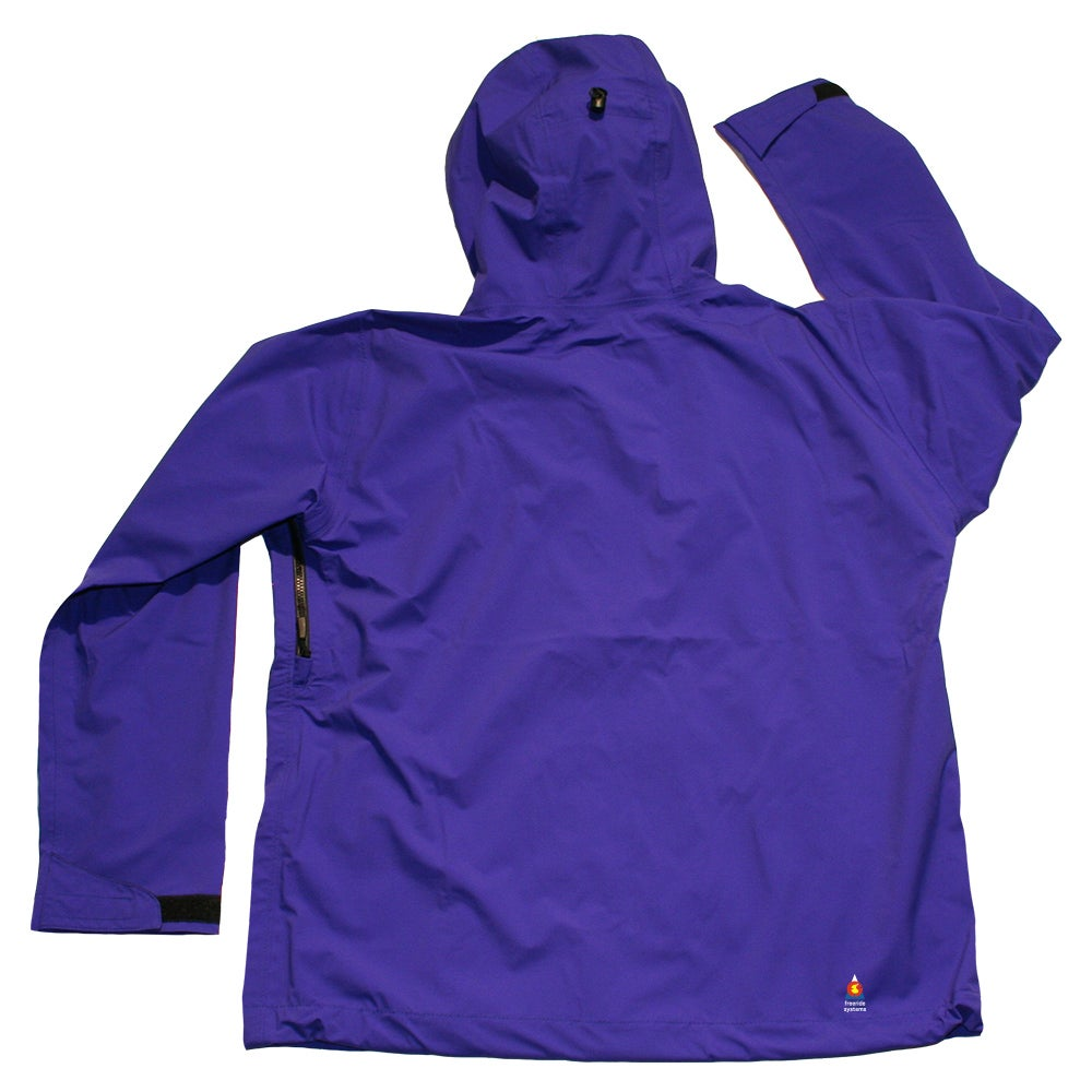 Image of ANTERO 3 POLARTEC NEOSHELL HARDSHELL SKI JACKET PURPLE