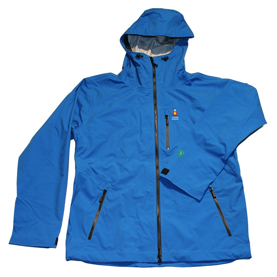 Image of ANTERO 3 POLARTEC NEOSHELL HARDSHELL LTE Light Touring SKI WINTER JACKET BELGIAN BLUE