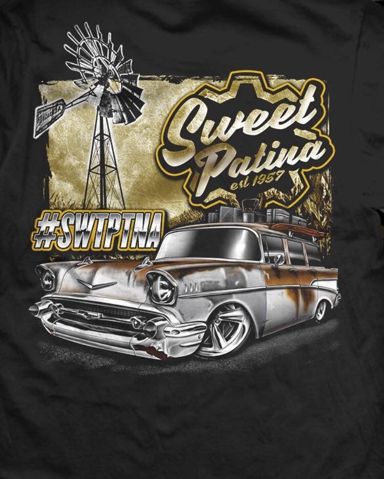 Image of Sweet Patina/ Windmill  T-shirt