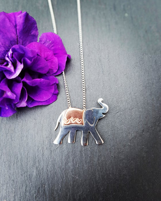 Image of Little Elephant Necklace
