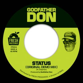 Image of Godfather Don 'Status' (OG) / (Remix) (FPI014) 7""