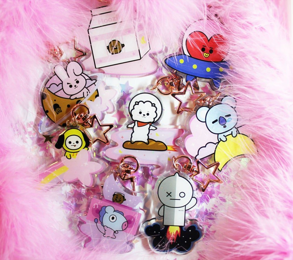 Image of BT21 keychains
