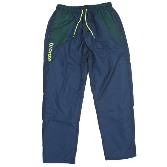 Image of SPORTS PANTS NAVY/LIME