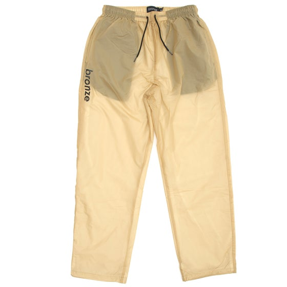 Image of SPORTS PANTS KHAKI/BLACK
