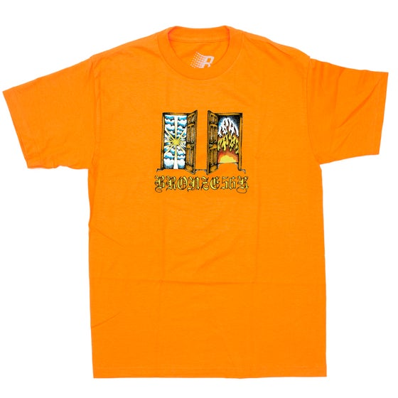 Image of ITS TIME TEE ORANGE