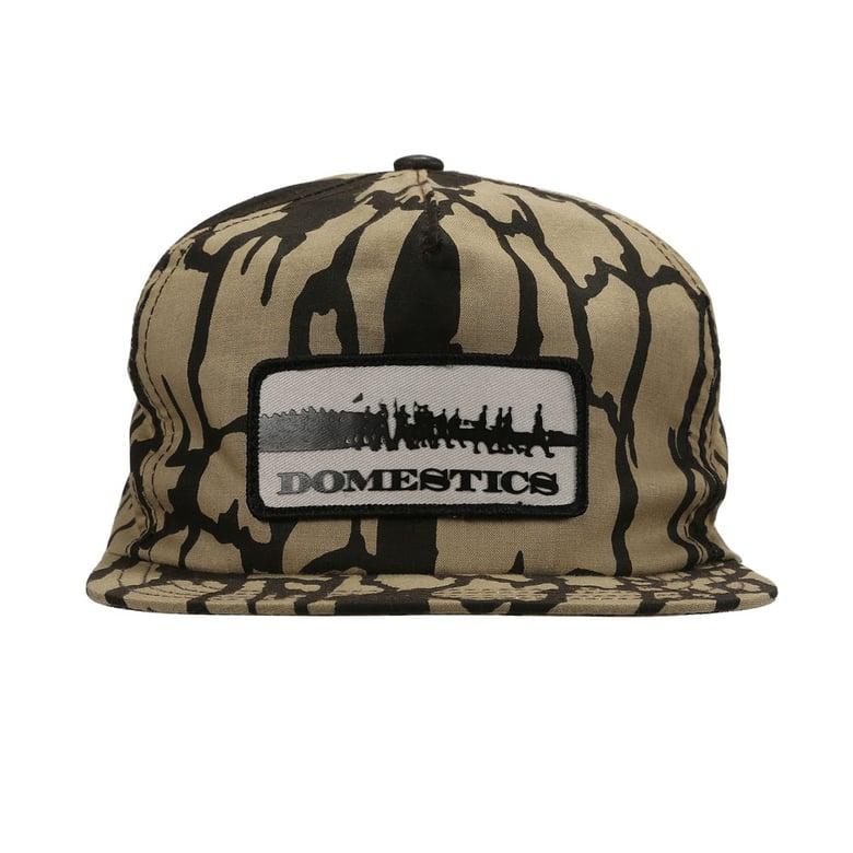 Image of DOMEstics. MADE IN USA Treebark Hat Snapback