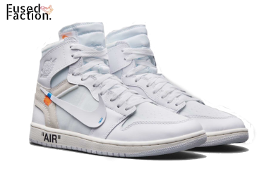 new styles d00ed adfd1 Off White x Air Jordan 1 - White