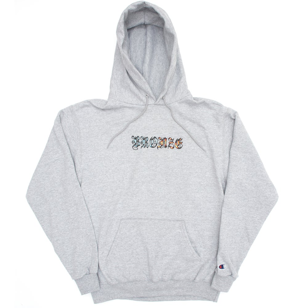 Image of ICY HOT HOODY HEATHER GREY