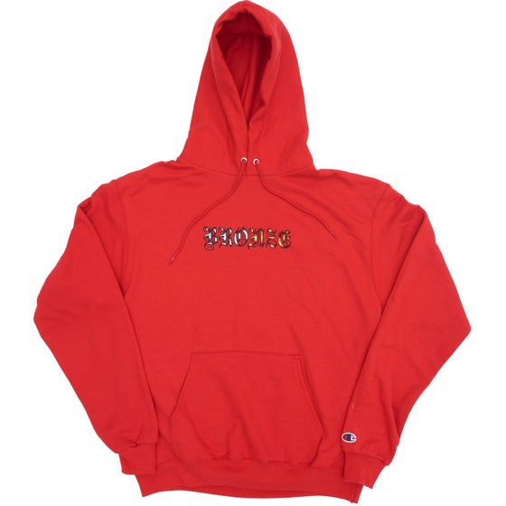Image of ICY HOT HOODY SCARLETT