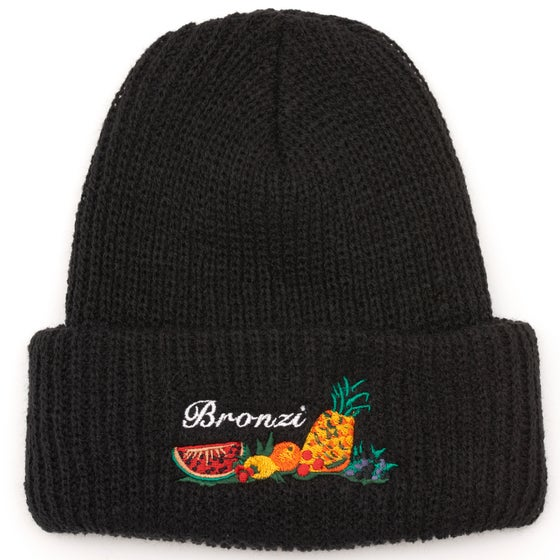 Image of BRONZI BEANIE BLACK