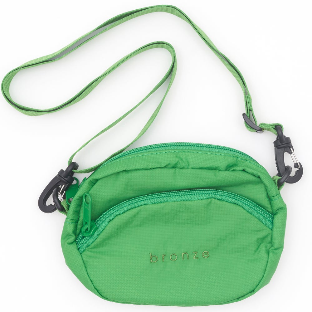 Image of RIPSTOP SATCHEL BAG GREEN