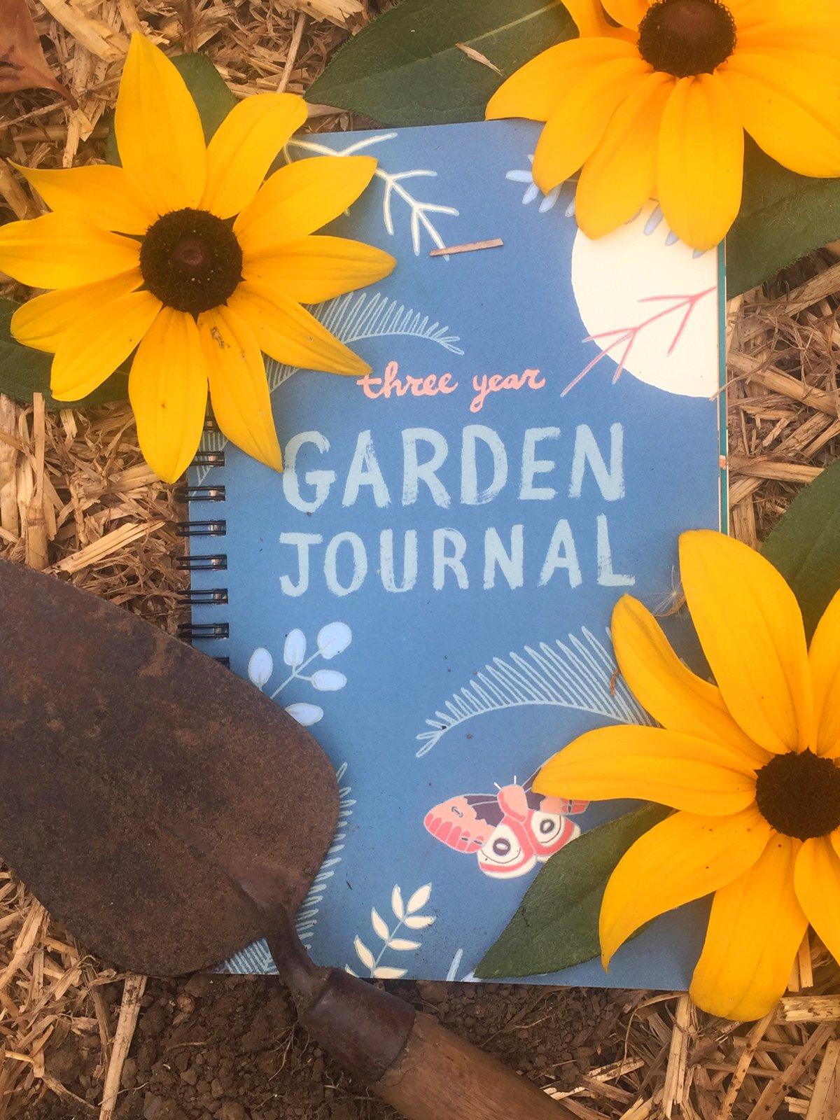 Image of 3-Year Garden Journal
