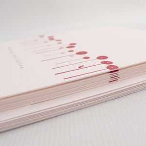Image of Wedding invitations - Poppy field (pack of six)