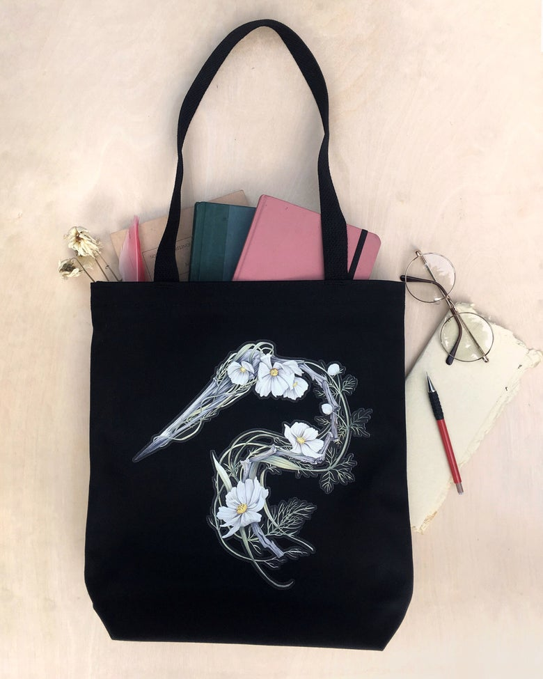 Image of Heron Tote Bag