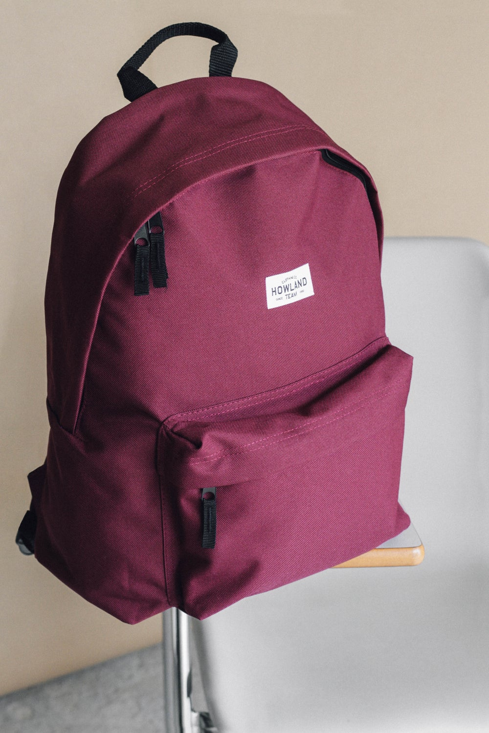 Image of BURGUNDY BAG