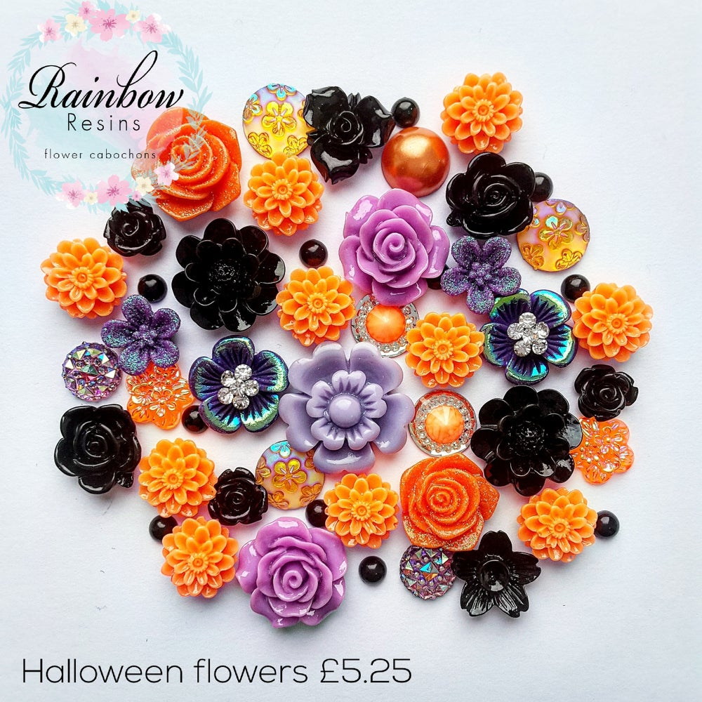 Image of Halloween flowers