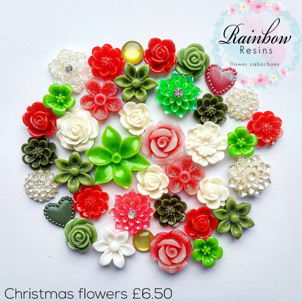 Image of Christmas flowers