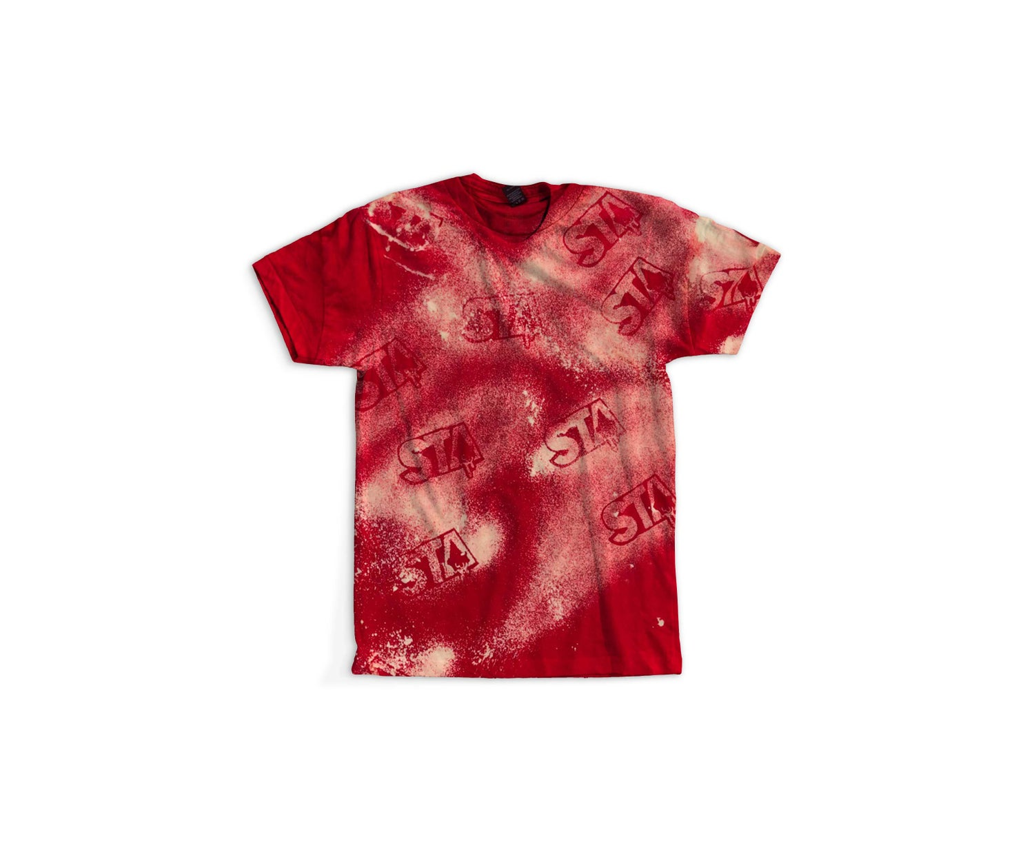 Image of STA Ashy Larry Tee Red