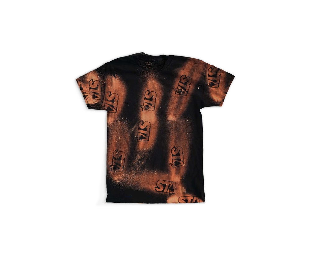 Image of STA Ashy Larry Tee Black