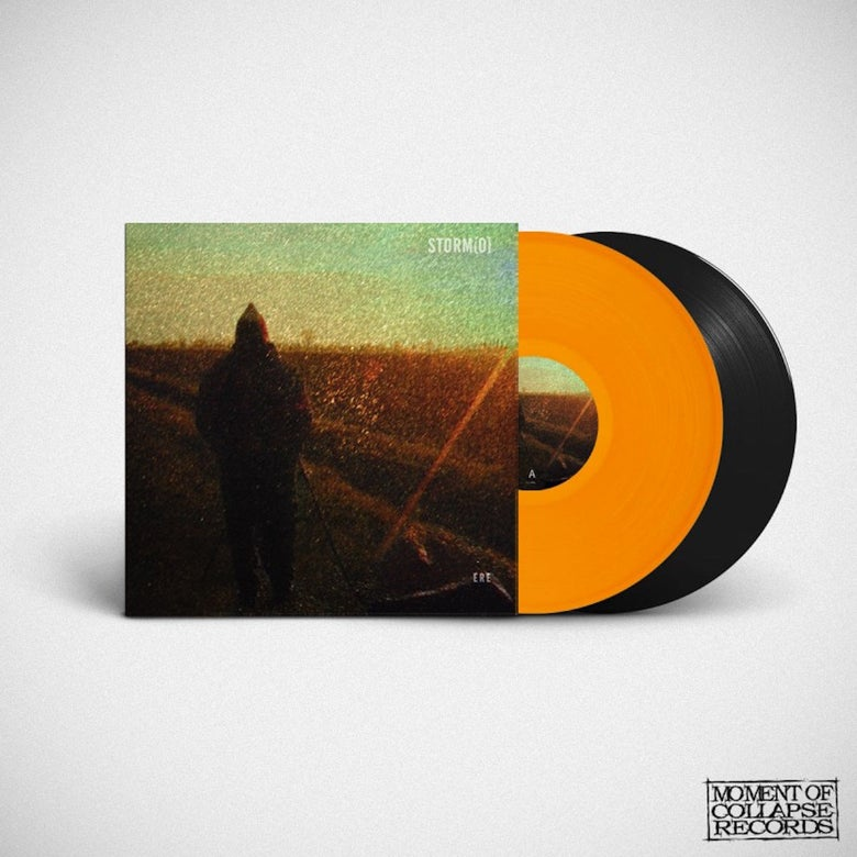 "Image of ERE - Bright Orange 12"" Vinyl in Gatefold Cover"