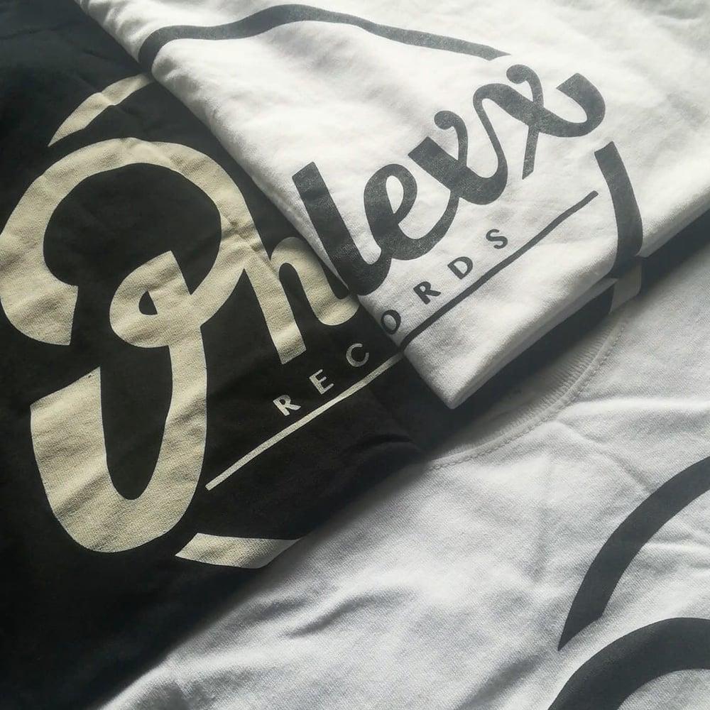 Image of Phlexx Records Tee (White / Black)