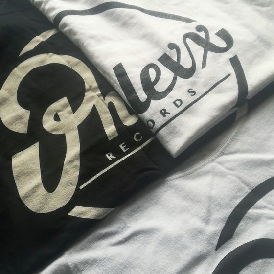 Image of Phlexx Records Tee (White / Black)