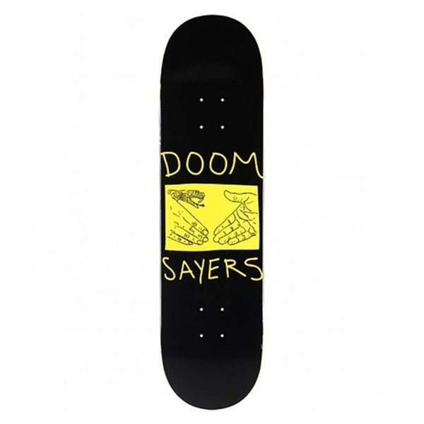 Image of DOOM SAYERS SNAKE SHAKE SKATEBOARD DECK 8.38""