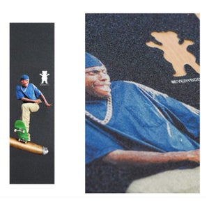 Image of GRIZZLY x EVERYBODY SKATES BLUNT GRIPTAPE