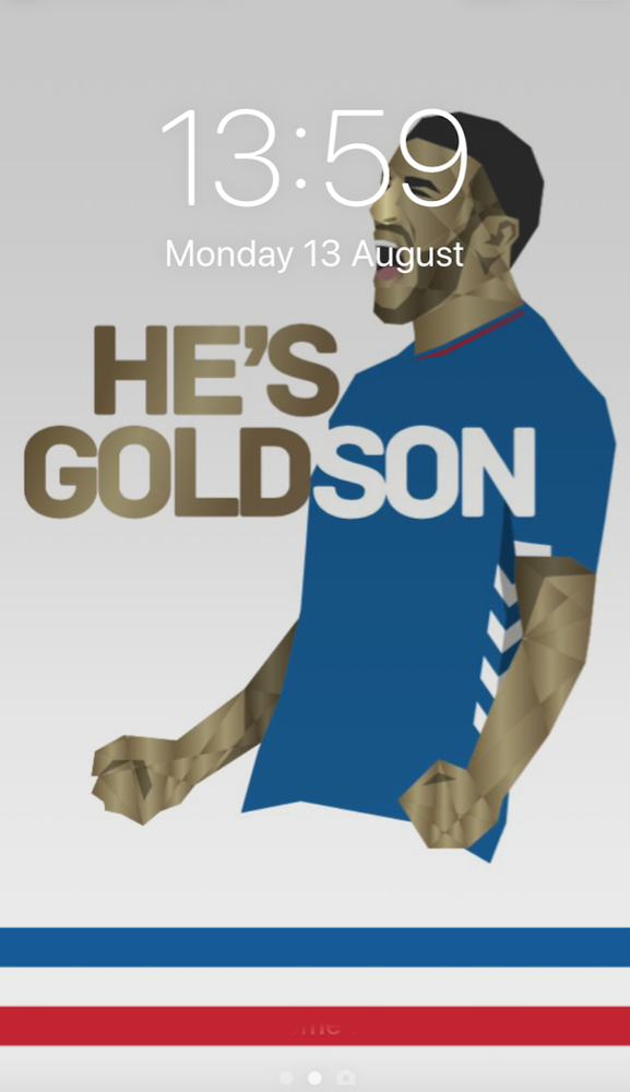 Image of He's Goldson phone wallpaper