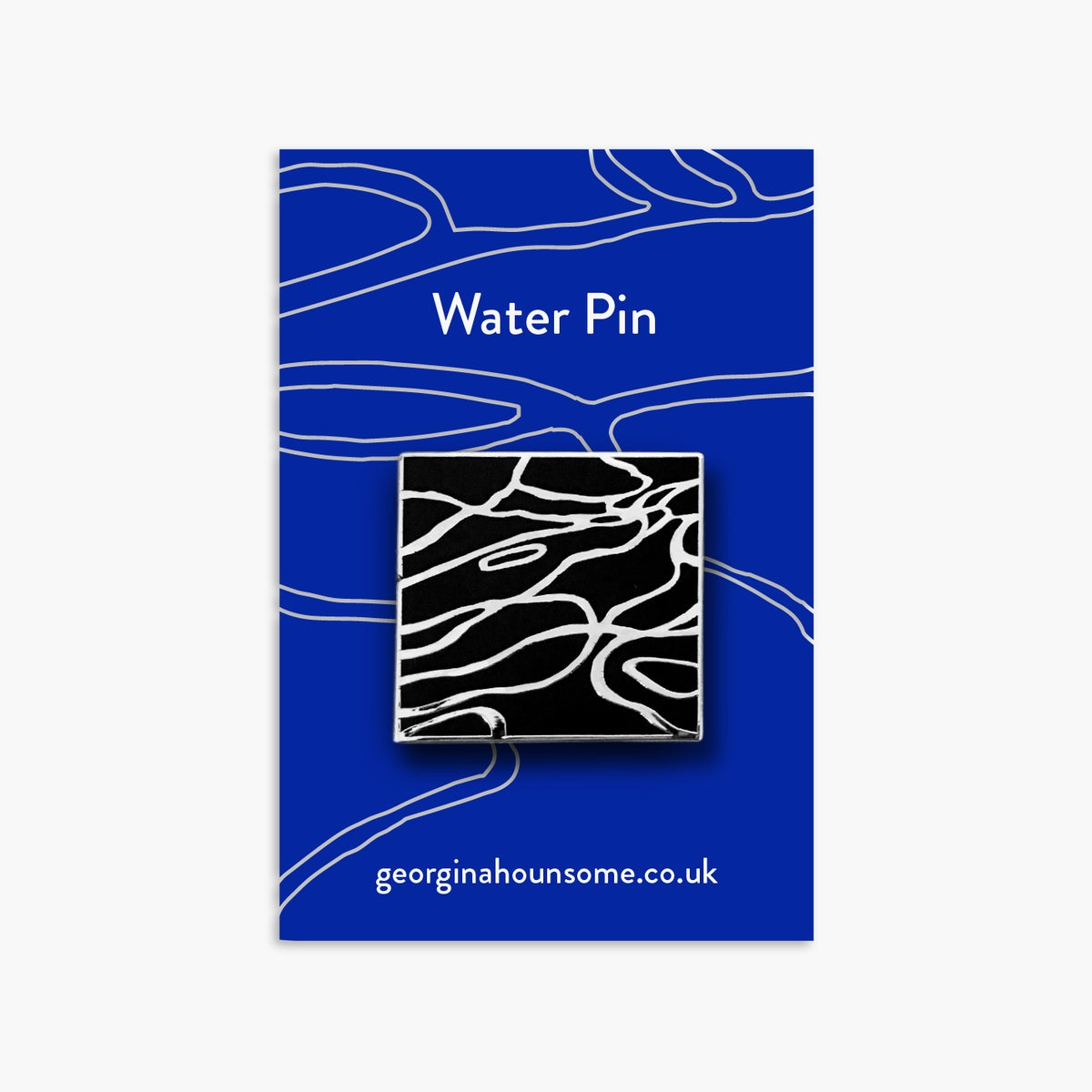 Image of Water pin badge