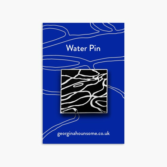 Image of Water pin badge