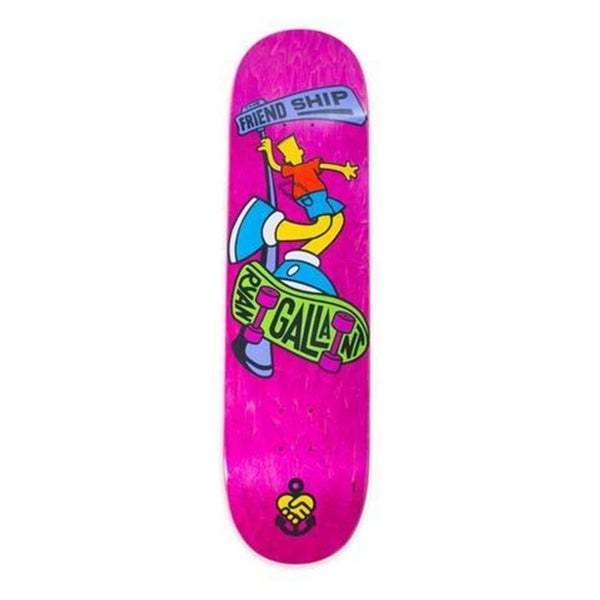 Image of The Friendship Gallant Pro Skateboard Deck 8.25""