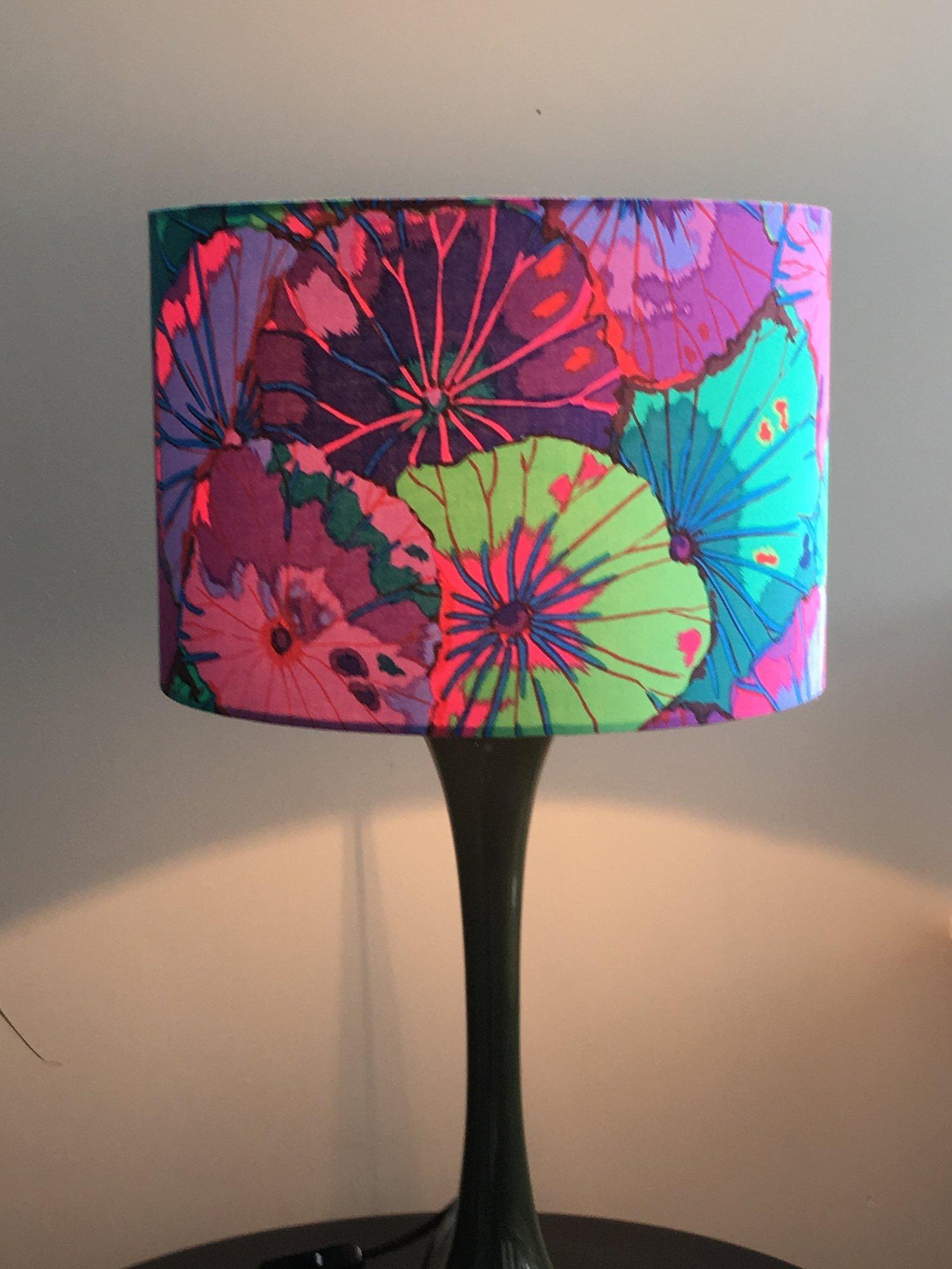 Image of Lotus Leaf Purple Shade 30cm