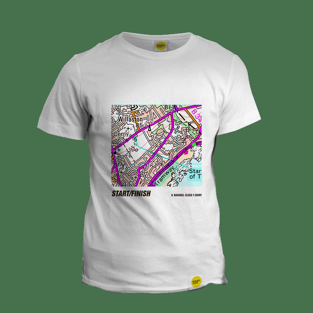Image of Rachael Clegg's OS T Shirt: Start/Finish