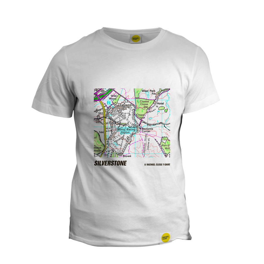 Image of Rachael Clegg's OS T Shirt: Silverstone