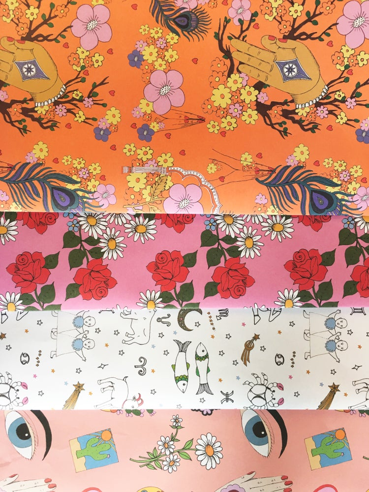 Image of **NEW** Patterned Wrapping Paper