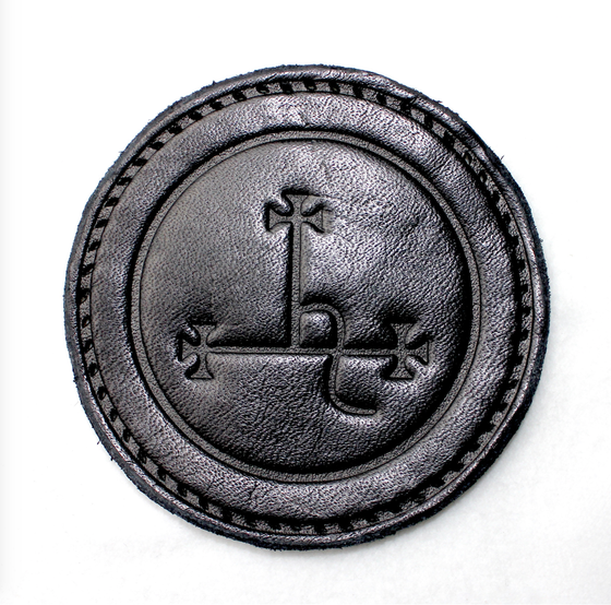 Image of Seal of Lilith Leather Patch